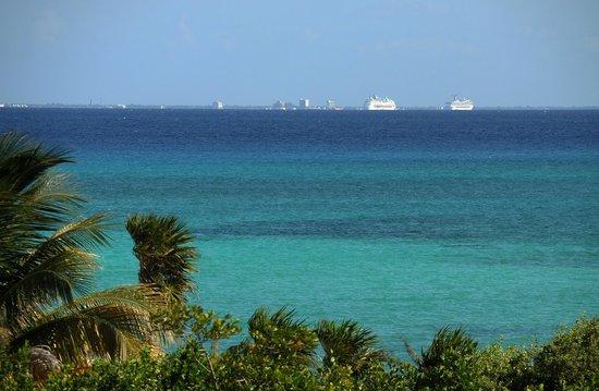 Paradisus Playa del Carmen La Perla : Cozumel en la distancia