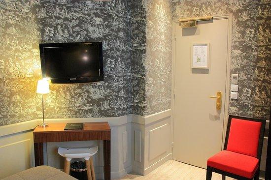 Hotel de Londres Eiffel : Twin Room