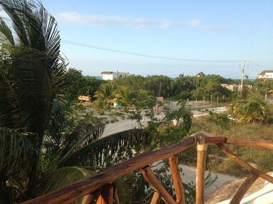 Casa BlatHa: Vista desde el balcón
