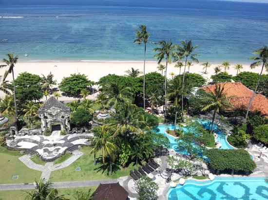 Inna Grand Bali Beach Hotel: View to die for