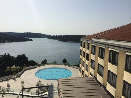 Park Plaza Histria Pula: Outside pool