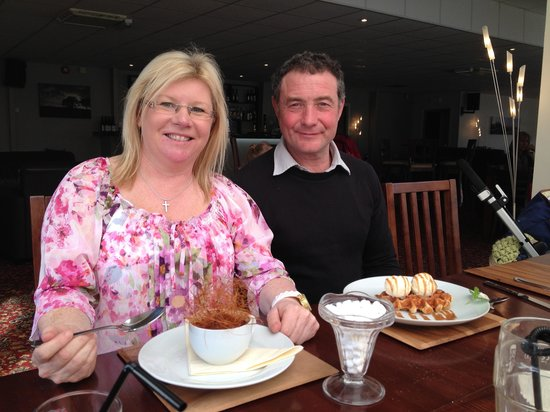 Bryn Morfa Restaurant: The sweets are scrumptious