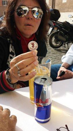 Ristorante Sangallo Ai Coronari : Red Bull! Yeah!