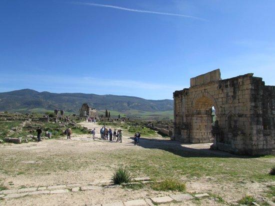 2000-year old Roman ruins, Volubilis