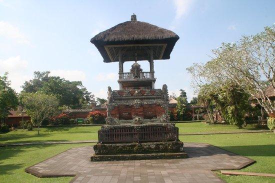 Taman Ayun Temple: à l'entrée du parc
