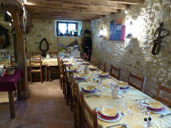 Le Maraval: Salle de restaurant