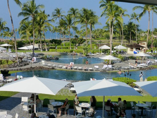Pool Views Picture Of Waikoloa Beach Marriott Resort Spa