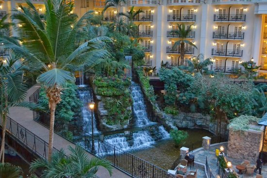 Gaylord Opryland Resort Gardens: the view from my room