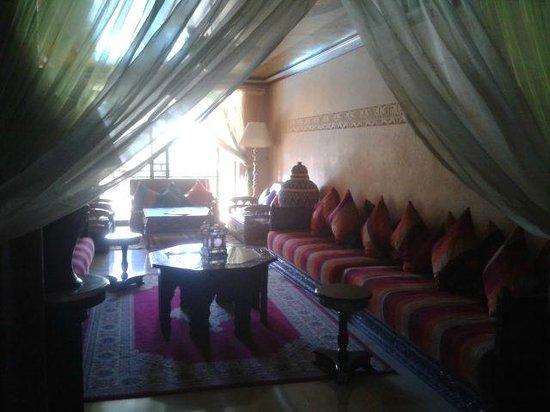 Hotel Argana : Indoor seating area