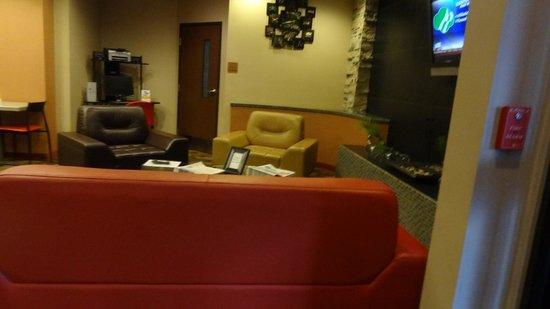 Comfort Inn & Suites : Reception area