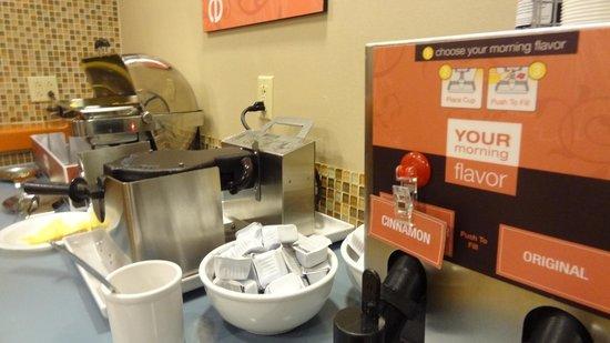 Comfort Inn & Suites : Breakfast  Waffle Maker