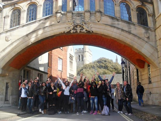 Footprints Tours Oxford: Bridge of Sighs