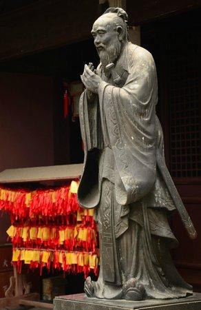 Shanghai Confucian Temple: Statue