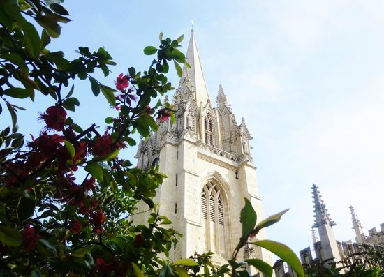 Footprints Tours Oxford: St Mary's: climb the tower to see more!