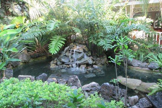 Grand Bahia Principe El Portillo : chute intérieure