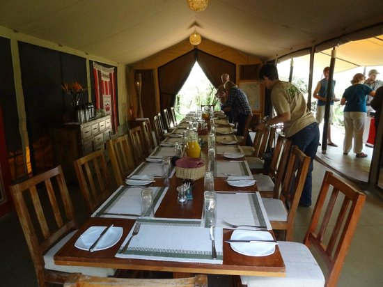 Encounter Mara, Asilia Africa: Every meal was tremendous