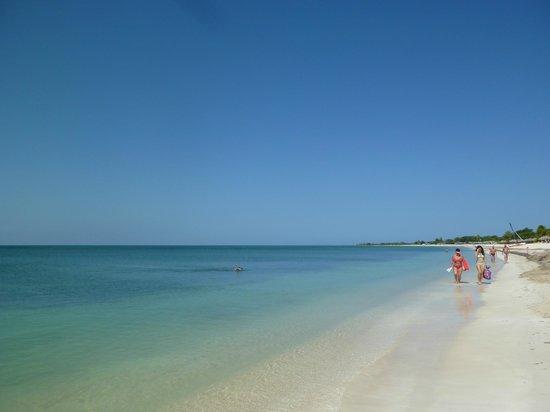 Playa Ancon: bleu bleu