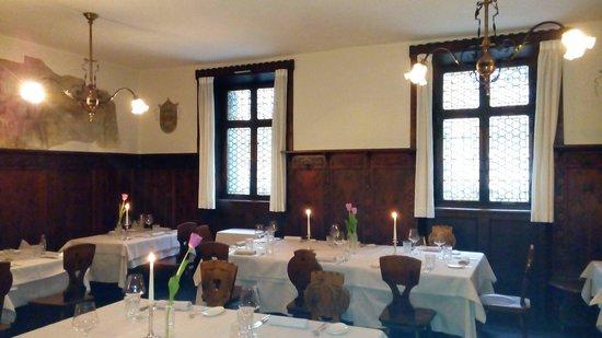 Klassische Stube Mit Moderner Küche Bild Von Wirtshaus Loewengrube