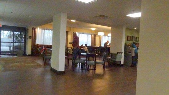 Hampton Inn Columbus Dublin: Dining area