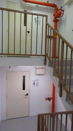 Hampton Inn Columbus Dublin : Emergency escape
