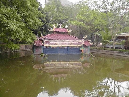 Ethnologisches Museum: Water Puppet Theatre