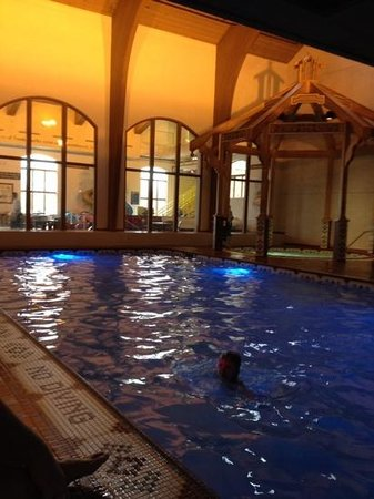Bavarian Inn Lodge: fun in the pool!