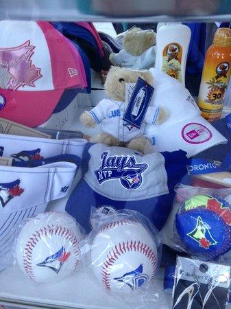 Florida Auto Exchange Stadium - Dunedin Blue Jays: Souvenir goods.