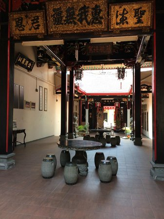 The Baba House: Cool Chinese Association/Clan house just oppiosite