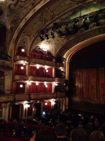 Volkstheater: Im Theatersaal