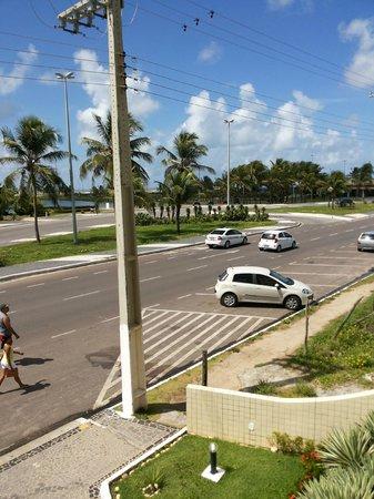 Real Praia Hotel: orla na frente do hotel
