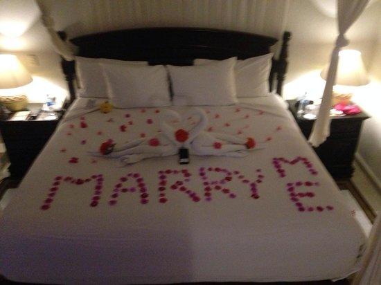 El Dorado Sensimar Riviera Maya: Got engaged