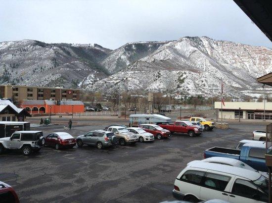 Glenwood Springs Inn: amazing view