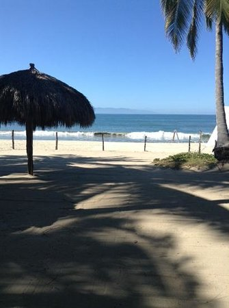 Bungalows Unelma : veiw of the beach