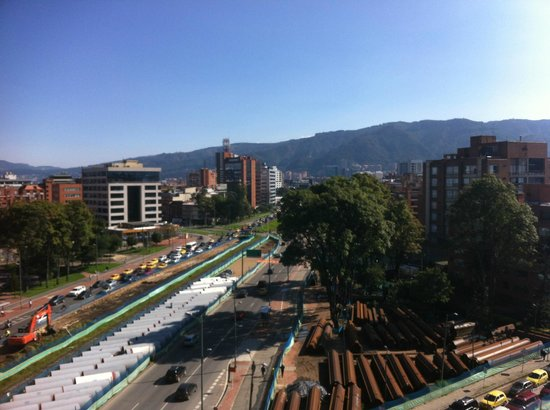 Casa Dann Carlton Hotel & SPA: Vue depuis la terrasse piscine