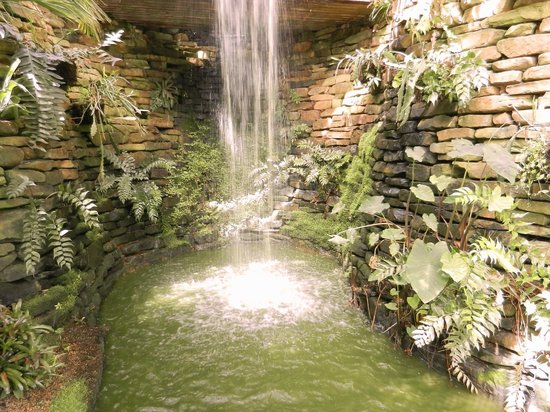 The waterfall is in the Horticulture Center Picture of Callaway