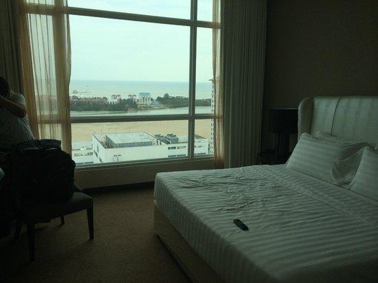 Hatten Hotel Melaka: Nice Seaview from room