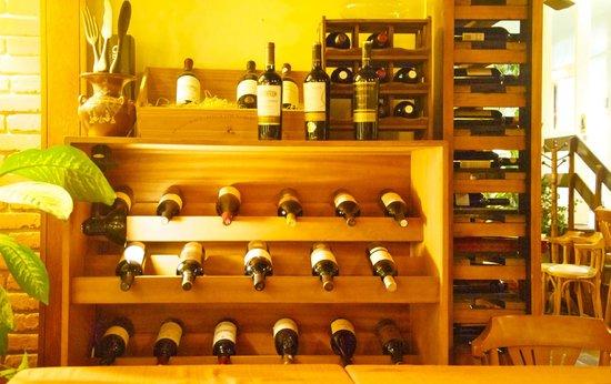 selección de vinos en andres