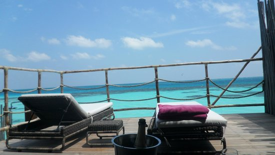 Constance Moofushi: view from senior watervilla
