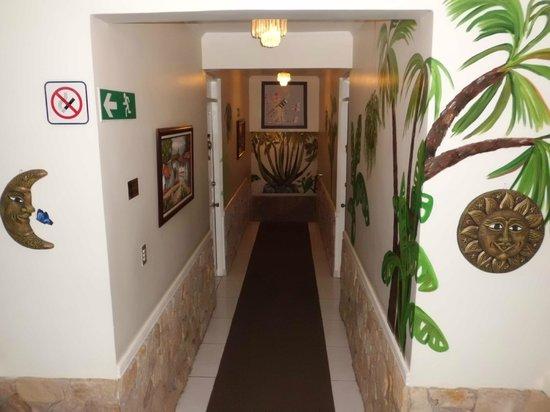 Adventure Inn : área interna