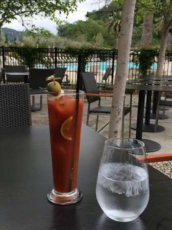 Solage, an Auberge Resort : Awesome Bloody Mary