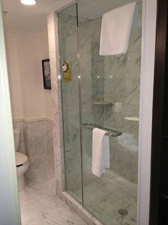 The Kimpton George Hotel: Shower area