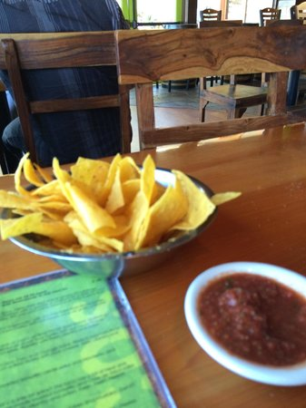 TacoLu: Chips and salsa