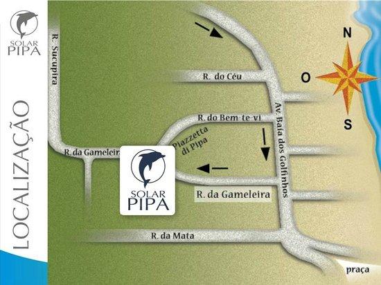Solar Pipa Aparthotel: Ótima localização.