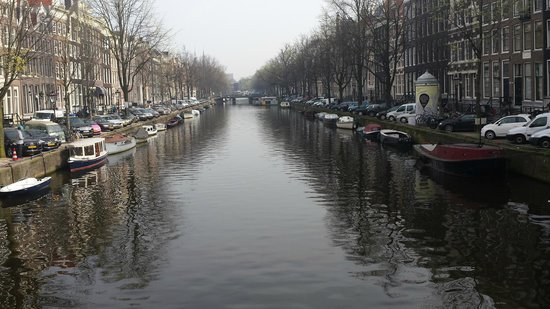 Canal in front of  The Toren