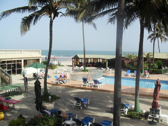 Sunset Beach Hotel: View from Room
