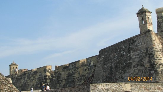Château de San Felipe de Barajas : Visita instrutiva