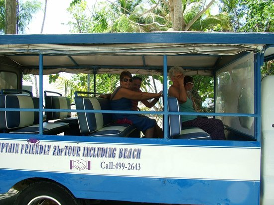 Tortola Highlights Tour: Captain Briendly`s `taxi`
