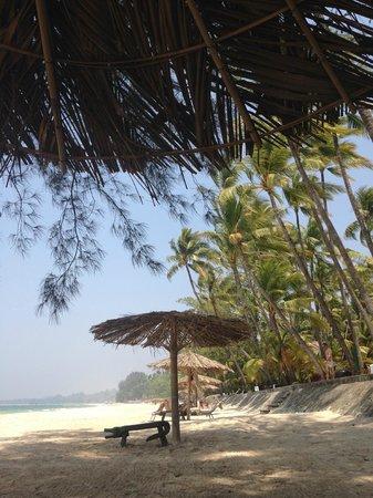 Sandoway Resort: Umbrellas