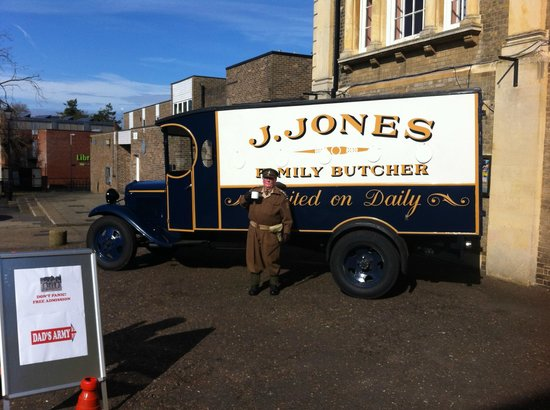 Dad's Army Museum: Jones's Van