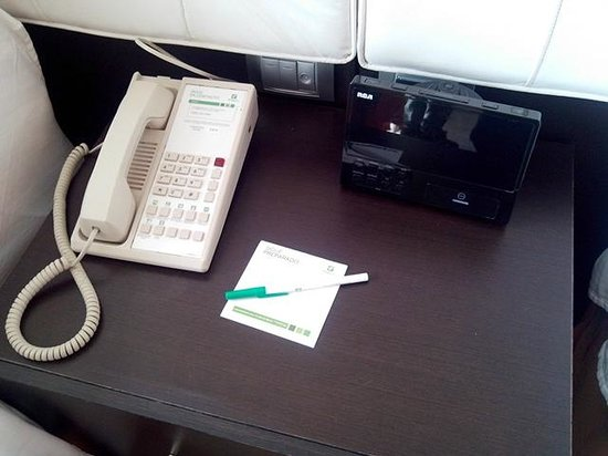 Holiday Inn Tuxpan: Desk inside room